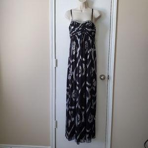 Oleg Cassini Empire Waist Gown Dress